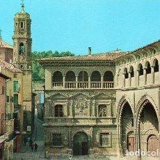 Postales: ALCAÑIZ - 9 PALACIO MUNICIPAL Y LONJA. Lote 82201004