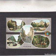 Postales: Nº 5 HUESCA. DIVERSOS ASPECTOS DE LA LOCALIDAD. Lote 82343248