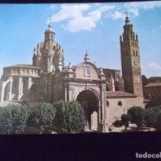 Postales: ZARAGOZA-V6-TARAZONA-FACHADA CATEDRAL. Lote 82911616
