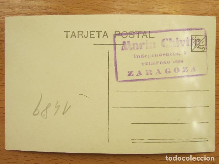 Postales: ZARAGOZA. MILITARES, AUTORIDADES. FOTO MARTIN CHIVITE. - Foto 2 - 83022736