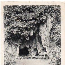 Postales: PS7553 MONASTERIO DE PIEDRA 'LA GRUTA DEL ARTISTA'. LACOSTE. CIRCULADA. 1907. Lote 83123884