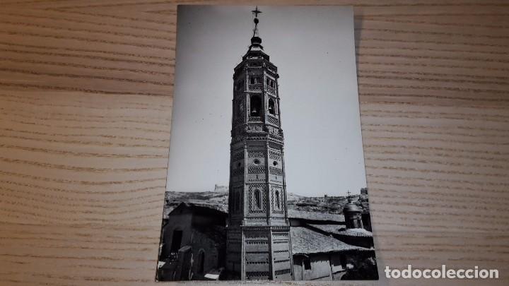 POSTAL DE CALATAYUD. 22. TORRE DE SAN ANDRÉS. EDICIONES SICILIA. NO CIRCULADA (Postales - España - Aragón Moderna (desde 1.940))