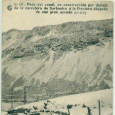 HUESCA. OBRAS DEL SALTO DEL RUN. CATALANA DE GAS. Nº 147