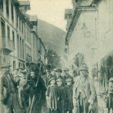 Postales: BENASQUE-LUCHON. DOMADORES DE OSOS. POSTAL FRANCESA.HACIA 1920. Lote 83606268