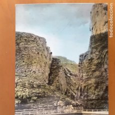 Postales: POSTAL ZARAGOZA - 137 JARABA - VALLE DEL RÍO MESA Y PEÑA PALOMERA. Lote 83681724