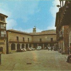 Postales: ALBARRACIN (TERUEL)PLAZA DEL GENERALÍSIMO - EDICIONES SICILIA Nº 17 - CIRCULADA. Lote 263205900