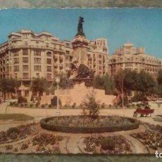 Postales: ZARAGOZA - PLAZA DE ESPAÑA. Lote 85096088