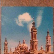 Postales: ZARAGOZA - BASILICA DEL PILAR. Lote 85096196