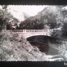 Postales: FOTO POSTAL TROQUELADA . CANFRANC FUERTE COLL DE LADRONES Y LA RACA. Lote 85110852
