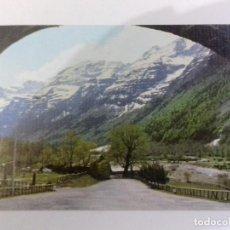 Postales: VALLE DE PINETA-PIRINEO ARAGONES-TARJETA POSTAL. Lote 86757796