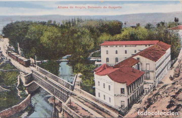 ALHAMA DE ARAGON (ZARAGOZA) - BALNEARIO DE GUAJARDO (Postales - España - Aragón Antigua (hasta 1939))