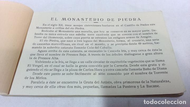 Postales: ALBUM COMPLETO 15 TARJETAS POSTALES, RECUERDO DE - EL MONASTERIO DE PIEDRA -. M. ARRIBAS - Foto 2 - 87218944