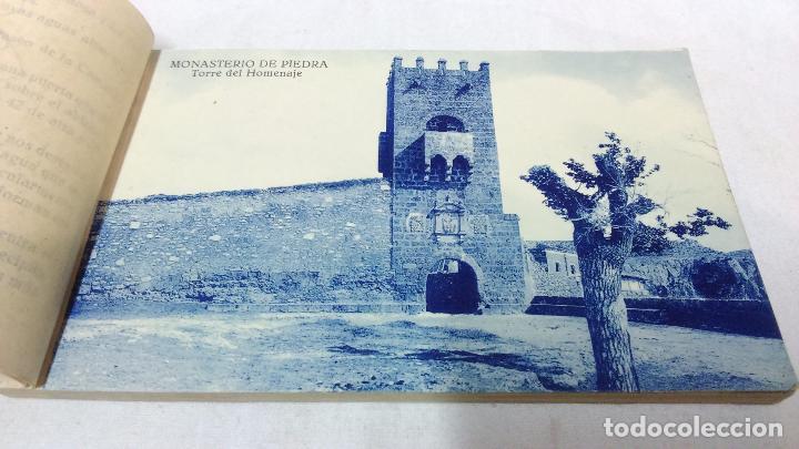 Postales: ALBUM COMPLETO 15 TARJETAS POSTALES, RECUERDO DE - EL MONASTERIO DE PIEDRA -. M. ARRIBAS - Foto 3 - 87218944