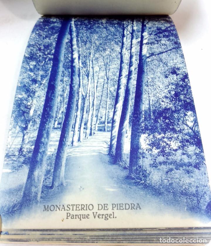 Postales: ALBUM COMPLETO 15 TARJETAS POSTALES, RECUERDO DE - EL MONASTERIO DE PIEDRA -. M. ARRIBAS - Foto 5 - 87218944
