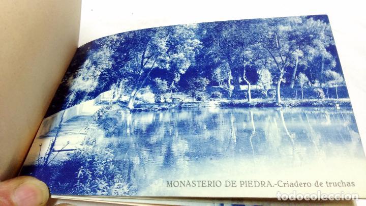 Postales: ALBUM COMPLETO 15 TARJETAS POSTALES, RECUERDO DE - EL MONASTERIO DE PIEDRA -. M. ARRIBAS - Foto 6 - 87218944