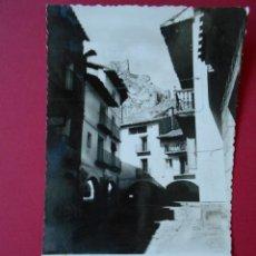 Postales: ANTIGUA POSTAL DE ALIAGA (TERUEL) CALLE DE LA IGLESIA ... R - 6153. Lote 87344656