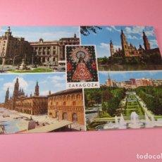 Postales: POSTAL-ZARAGOZA-BELLEZAS DE LA CIUDAD-ANTIGUA-VER FOTOS.. Lote 87452408