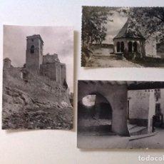 Postales: POSTALES BENABARRE HUESCA . CASTILLO DE LOS CONDES. SAN MEDARDO. Lote 87653500