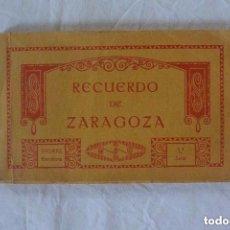 Postales: RECUERDO FOTOGRAFICO ZARAGOZA TARJETAS POSTALES THOMAS BARCELONA. Lote 87689992