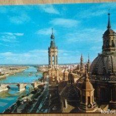 Postales: ZARAGOZA - VISTA DEL EBRO. Lote 88298560