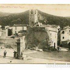 Cartes Postales: BARCELONA CANTALLOPS PLAZA MAYOR. ED. LA VEU DE L'EMPORDA. CIRCULADA. Lote 88792992