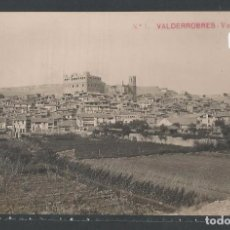 Postales: VALDERROBRES - VISTA GENERAL - PROV. TERUEL - P21124. Lote 88906556
