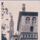 Postales: POSTAL ZARAGOZA - LA LONJA Y CALLE DEL PILAR - FOTOGRAFICA. Lote 88990284