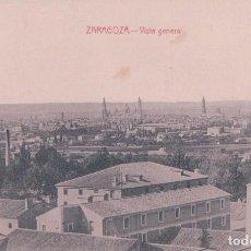 Postales: POSTAL ZARAGOZA . VISTA GENERAL . Lote 90887410