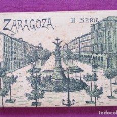 Postales: LOTE 20 POSTALES, ZARAGOZA, II SERIE, DESPLEGABLES, LTP12. Lote 91270090