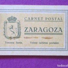 Postales: LOTE 20 POSTALES, ZARAGOZA, TERCERA SERIE, LTP19. Lote 91276000