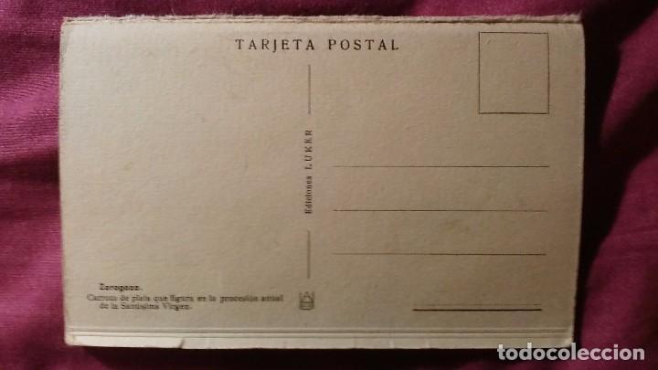 Postales: Zaragoza - Moderna colección gráfica recuerdo de la Santísima Virgen del Pilar y su Basílica - Foto 2 - 91515490