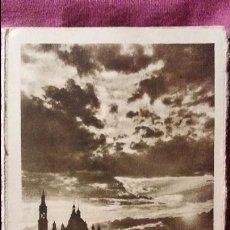 Postales: ZARAGOZA - MODERNA COLECCIÓN GRÁFICA RECUERDO DE LA SANTÍSIMA VIRGEN DEL PILAR Y SU BASÍLICA. Lote 91515510