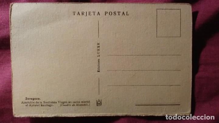 Postales: Zaragoza - Moderna colección gráfica recuerdo de la Santísima Virgen del Pilar y su Basílica - Foto 2 - 91515520
