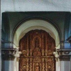 Postales: VALDEALGORFA - TERUEL - RETABLO ALTAR MAYOR NATIVIDAD DE NUESTRA SEÑORA. Lote 91522160