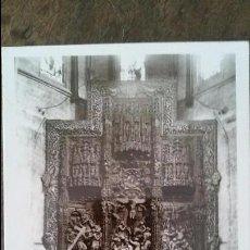 Postales: HUESCA - ALTAR MAYOR. CATEDAL. Lote 91830500