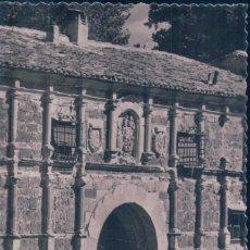 Postales: POSTAL MONASTERIO DE PIEDRA - PORTADA DEL PALACIO ABACIAL - DETALLE - 25 SICILIA. Lote 92184445