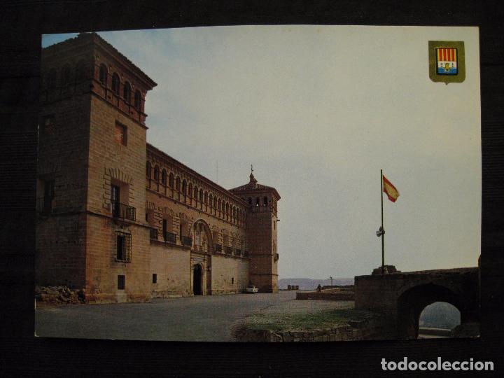 Postales: POSTAL ALCAÑIZ ( TERUEL ) - Nº 5525 - CASTILLO CALATRAVOS. - Foto 2 - 92386255