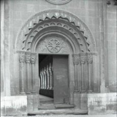 Postales: NEGATIVO ESPAÑA HUESCA IGLESIA SAN PEDRO EL VIEJO 1973 ILFORD 35MM NEGATIVE SPAIN PHOTO FOTO. Lote 93361860