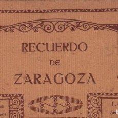 Postales: RECUERDO DE ZARAGOZA / BLOCK POSTAL 20 POSTALES 1ª SERIE . THOMAS P.MUNDI/ARAGON-12 BUEN ESTADO. Lote 93525650