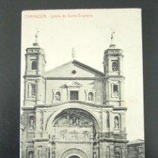 Postales: POSTAL ZARAGOZA. IGLESIA DE SANTA ENGRACIA. . Lote 94115340