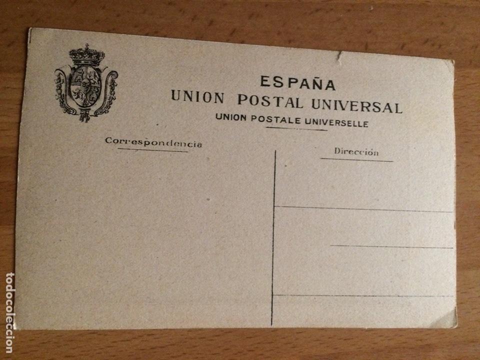 Postales: Antigua postal zaragoza.celebrara el centenario de los sitios 1908.ruinas seminario 9 - Foto 2 - 94509299