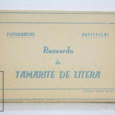 Postales: TACO ACORDEÓN DE 10 POSTALES FOTOGRÁFICAS - RECUERDO DE TAMARITE DE LITERA - ED. POSTALES VICTORIA. Lote 95182851
