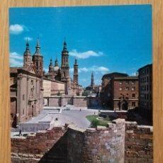 Postales: ZARAGOZA - TORRE INCLINADA. Lote 95411287
