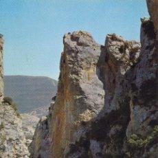 Postais: LA PEÑA ( HUESCA ) Nº 3 FOZ DE ESCALETE S/C.- EDIC. SICILIA .- D.P.L. 1973. Lote 95658975