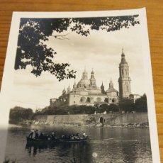 Postales: FOTO POSTAL ZARAGOZA. Lote 95881418