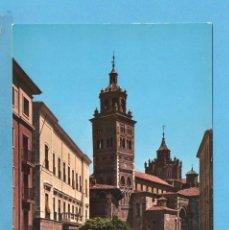 Postales: POSTAL DE PLAZA DEL AYUNTAMIENTO Y CATEDRAL Nº1 EDITO GARCIA GARRABELLA SIN CIRCULAR . Lote 95924311