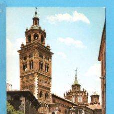 Postales: POSTAL DE TERUEL LA CATEDRAL Nº22 EDITO GARCIA GARRABELLA SIN CIRCULAR . Lote 95925579