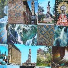 Postales: LOTE 114 POSTALES DE ARAGÓN. Lote 95925687