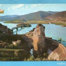 Postales: POSTAL DE PANTANO DE LA PEÑA EN LA RUTA FRANCIA HUESCA Nº 1 EDITÓ PEÑARROYA SIN CIRCULAR . Lote 96003103