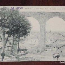 Postales: TERUEL, LOS ARCOS VISTA TOMADA DESDE EL ARRABAL, 2ª SERIE. 4, A. MALLÉN. PARIS IRUN E.J.G. SIN CIRCU. Lote 96059971
